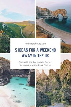5 ideas for a weekend away in the UK — Helena Bradbury Weekend Breaks Uk, Weekend Trips, Day Trips, Weekends Away Uk, Cool Places To Visit, Places To Travel, Uk And Ie Destinations, Best Uk Holiday Destinations, Road Trip Uk