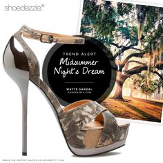 Camo<3 Midsummer Nights Dream, Shoe Dazzle, Wildfox, Cute Shoes, Round Sunglasses, Sandals, Camo, Fashion, Camouflage