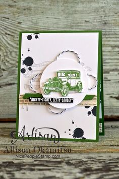 nice people STAMP!: Guy Greetings: Stampin' Up! Artisan Blog Hop