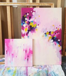 Colorful Abstract Art, Abstract Canvas Art, Oil Painting Abstract, How To Abstract Paint, Abstract Art Tattoo, Modern Art Paintings, Beautiful Paintings, Oil Paintings, Mini Canvas Art