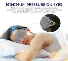Mavogel Cotton Sleep Eye Mask - Updated Design Light Blocking Sleep Mask, Soft and Comfortable Night Eye Mask for Men Women, Eye Blinder for Travel Sleeping Shift Work, Includes Travel Pouch Sleeping Issues, Shift Work, Essential Oils For Sleep, Wings Design, Best Fragrances, Massage Roller, Essential Oil Diffuser Blends, Sleep Problems, Sleep Mask