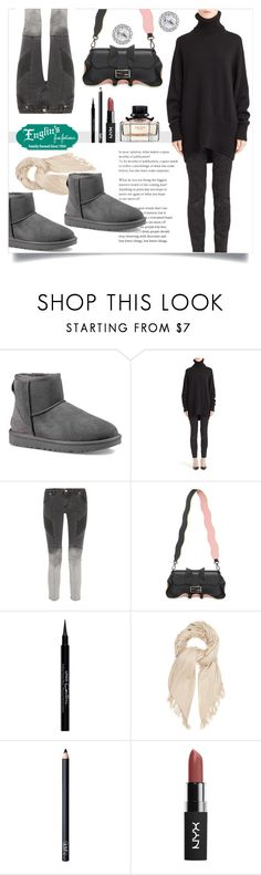 """""""Hello Cool Weather"""" by mahafromkailash ❤ liked on Polyvore featuring UGG Australia, Dolce&Gabbana, Pierre Balmain, Fendi, Givenchy, Isabel Marant and NARS Cosmetics"""