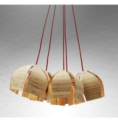 Pendant lighting, contemporary light TIMBER POD   About Space