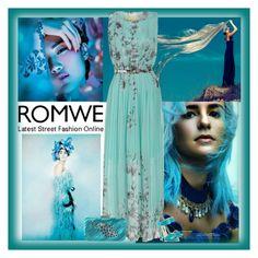 """""""romwe dress"""" by bodangela ❤ liked on Polyvore"""