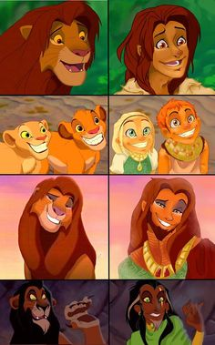 Lion King as People