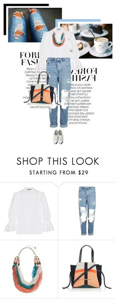 """""""Casual Friday"""" by veronicamastalli ❤ liked on Polyvore featuring Alexander McQueen, Topshop, Erica Lyons and Jérôme Dreyfuss"""