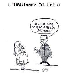 """""""Impiegato per hobby"""" di Enrico Martelloni - L'IMUtande Di-Letta"""