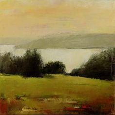 "Nova Scotia #25  acrylic on canvas  24""x24""by IRMA CERESE"