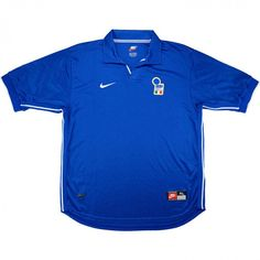 Vintage Nike 1997-98 Italy Home Shirt (New) SIze XL Retro Look, Light Jacket, Vintage Nike, Football Shirts, Windbreaker Jacket, Puffer Jackets, Black And Grey, Italy, Mens Tops