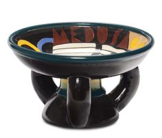 Tullio D'Albisola Vaso Medusa, 1930 Italian Pottery, Pottery Classes, Terracotta, Medusa, Art Decor, Ceramics, Enamels, 3, Paris