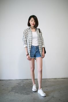 I love this look! Asian Street Style, Korean Street Fashion, Asian Style, Asian Fashion, Fashion Beauty, Girl Fashion, Fashion Outfits, School Looks, Grunge