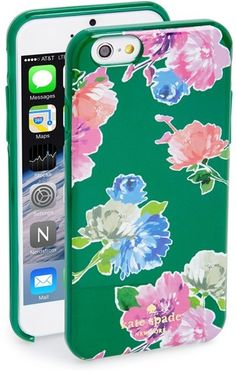 phone case - kate spade new york 'spring bloom' iPhone 6 case