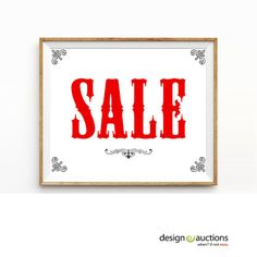 SALE sign printable instant download business signage, printable signs, business signs SALE