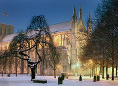 Winchester Cathedral, Midnight Mass.