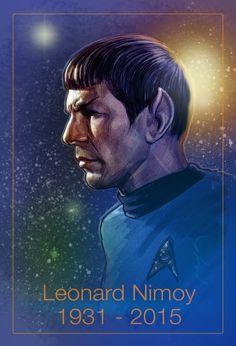 Nimoy Tribute by jasonpal on DeviantArt