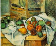 Table, Napkin and Fruit Artist: Paul Cezanne Completion Date: Style: Post-Impressionism Period: Final period Genre: still life Technique: oil Material: canvas Gallery: The Barnes Foundation, Merion, Pennsylvania, USA Henri Rousseau, Henri Matisse, Painting Still Life, Still Life Art, National Gallery Of Art, Paul Cezanne Artwork, Monet, Canvas Art Prints, Oil On Canvas
