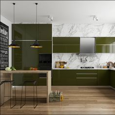 Full size of modular kitchen legs farmhouse dimensions images cart dresser cabinet kits for ideas designs Off White Kitchens, Home Kitchens, Contemporary Kitchen Plans, Green Kitchen Designs, Kitchen Ideas, Kitchen Decor, Olive Green Kitchen, Kitchen Colour Combination, Kitchen Modular