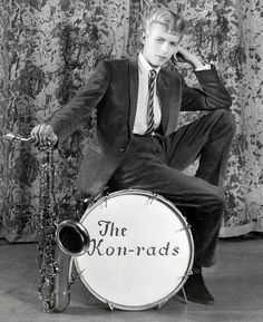 David Bowie in The Kon-rads in 1963