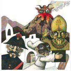 """ABC-Le città invisibili. V - Vulcano, Marco Lorenzetti, """"Vesuvio connection"""", 2012."""