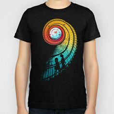 Journey of a thousand miles Kids T-Shirt