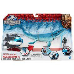 Jurassic World Mosasaurus vs. Submarine Pack : Target