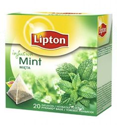 Lipton  MINT Herbal Infusion  20 count box Pack 8 boxes  160 count Pyramid tea bags >>> Find out more about the great product at the image link. Note: It's an affiliate link to Amazon.