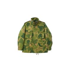 The Real McCoy's M-65 Field Jacket / Mitchell Camo MJ18005-165