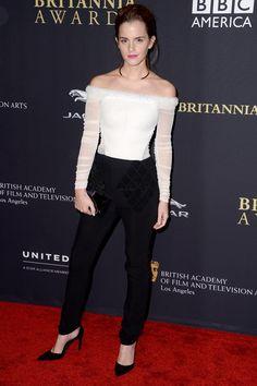 Best dressed - Emma Watson in Balenciaga