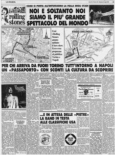 Rolling Stones Italia - Live in Italy - Torino, Comunale - 11 e 12 Luglio 1982
