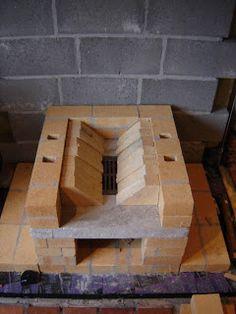 Tegelkachel/Masonry Heater/PDM/...: 2009 Stove Heater, Stove Oven, Wood Fired Oven, Wood Fired Pizza, Bbq Firebox, Home Rocket, Rocket Mass Heater, Oven Diy, Fire Pit Grill