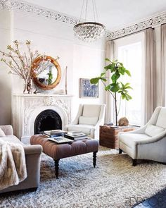 Keri Russell and Shane Deary's Brooklyn brownstone