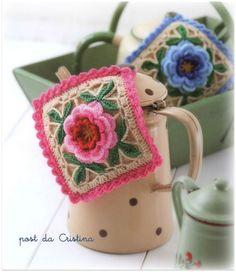 http://luncinettodicristina.blogspot.com: Presine rosa e azzurro