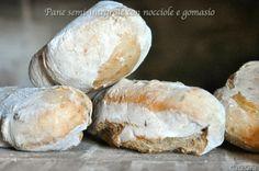 Burro e Malla: Pane semi integrale con nocciole e gomasio