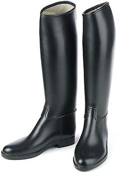 Womens Le Chameau Alezan Equestrian rain rubber Riding Black zip ...