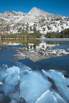 Tenaya Lake, Yosemite National Park, California by Ed Post
