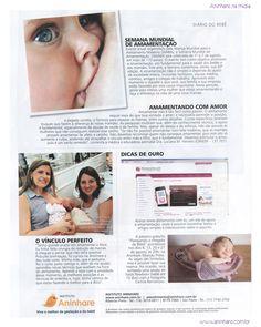 Diário do bebê - Revide - ano 26 nº31 - 03 de agosto de 2012