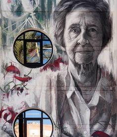 Margarita Salas Margarita, Urban Art, Margaritas
