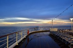MS Zaandam - Another sunrise steaming towards Cabo, via Flickr.
