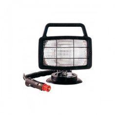 Faro luz de trabajo rectangular 12v magnético
