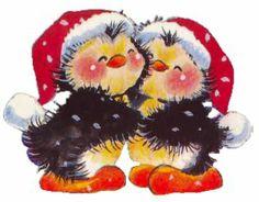 Penguin love # MERRY CHRISTMAS