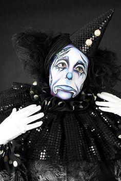 STICK ART STUDIO escuela de maquillaje artístico | Barcelona, España. Circus Makeup