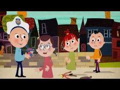 Trafik Konulu Çizgi Animasyon Filmi Video Film, First Grade, Crafts For Kids, Drama, Family Guy, Activities, Education, Fictional Characters, Crafts For Children