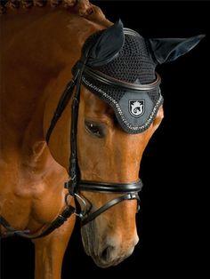 Ear Net   Fly Bonnet with Bling – Equestrianista LLC