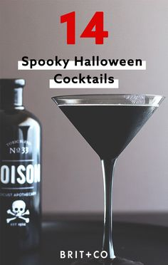 Whip up one of these 14 Halloween cocktail recipes in your magic cauldron.