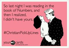 Christian pick up lines lol Favorite Quotes, Best Quotes, Funny Quotes, I Love To Laugh, Make Me Smile, Christian Pick Up Lines, Christian Humor, Christian Quotes, Belly Laughs