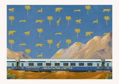 wes anderson postcards turn fictional film locales into dreamy travel destinations