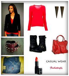 Jeans: Unlimited  - Sweater: Ralph Lauren - Boots: Betsey Johnson - Bag: Balenciaga - Earrings: Ben-Amun - Lipstick: Nars - Belt: VesteroModa