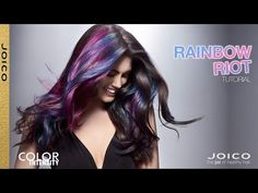 JOICO Color Intensity: Rainbow Riot Tutorial - YouTube