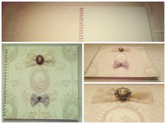 Handmade wedding guestbook