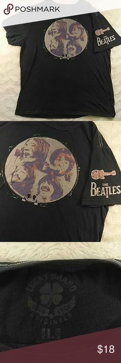 Lucky brand Beatles T-shirt Gently used Lucky brand Beatles T-shirt Lucky Brand Shirts Tees - Short Sleeve